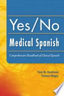 Yes No Medical Spanish