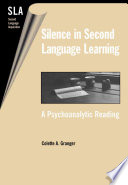 Silence in Second Language Learning Of Silence In Second Language