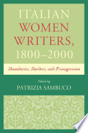 Italian Women Writers, 1800–2000