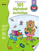 101 Alphabet Activities  Ages 3   6