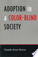Adoption in a Color blind Society