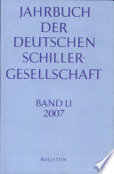 Jahrbuch der deutschen Schillergesellschaft