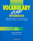 Vocabulary in Use Intermediate with Answers