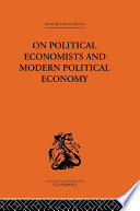 On Political Economists and Political Economy