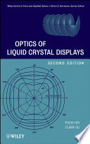 Optics Of Liquid Crystal Displays book