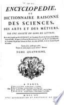 Encyclop  die ou dictionnaire raisonn   des sciences  des arts et des m  tiers  1004 p
