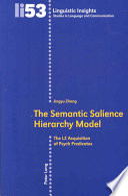 The Semantic Salience Hierarchy Model