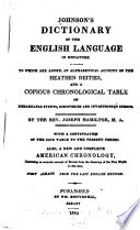 Johnson s dictionary of the English language