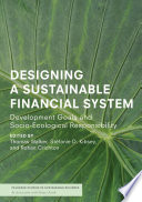 Designing A Sustainable Financial System