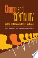 Change And Continuity In The 2008 And 2010 Elections book