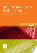 Benutzerfreundliche Online-Hilfen