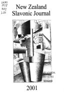 New Zealand Slavonic Journal