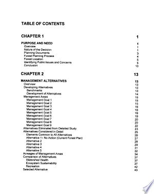 Hoosier National Forest (N.F.), Proposed Land and Resource Management Plan: Environmental Impact Statement
