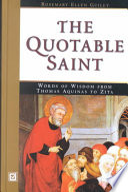 The Quotable Saint