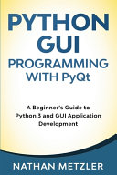 Python Gui Programming With Pyqt