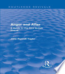 Anger and After  Routledge Revivals