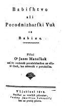 download ebook babishtvo ali porodnizharski vuk sa babize pdf epub