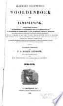 Algemeen noordwendig woordenboek der zamenleving ... vervolgd door eene vereeniging van vaderlandoch geleerden