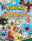 Pok  mon Legendary Sticker Collection  Regional Pass