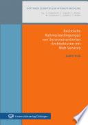 Rechtliche Rahmenbedingungen von serviceorientierten Architekturen mit Web Services