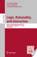 Logic  Rationality  and Interaction