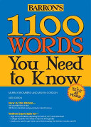 1100 Words You Need to Know