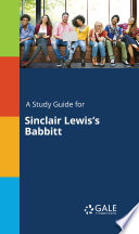 A Study Guide For Sinclair Lewis S Babbitt book
