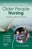 Placement Learning in Older People Nursing E-Book
