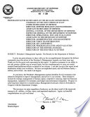 President s management agenda the results from the Department of Defense