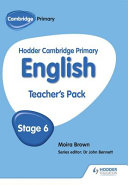 Hodder Cambridge Primary English  Stage 6