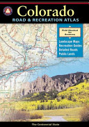 Benchmark Colorado Road   Recreation Atlas