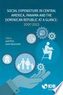 Social Expenditure In Central America Panama And The Dominican Republic At A Glance