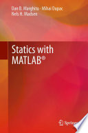 Statics with MATLAB