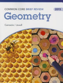 Brief Review Math 2015 Common Core Geometry Student Edition Grade 9 12