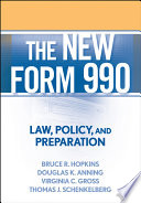 The New Form 990