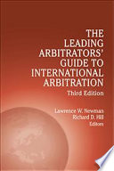 Leading Arbitrators  Guide to International Arbitration   Third Edition