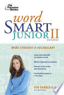 Word Smart Junior Ii 2nd Edition