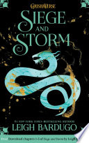 Siege and Storm  Chapters 1 5 Book PDF