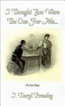 I Thought You Were the One for Me Book PDF