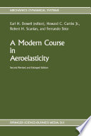 A Modern Course In Aeroelasticity