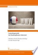 Laienlinguistik im frankophonen Internet