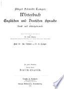Flügel-Schmidt-Tanger: German-English