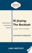 Xi Jinping: The Backlash Pdf/ePub eBook