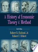A History of Economic Theory and Method Edition Of A History Of Economic Theory