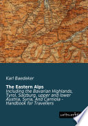 The Eastern Alps