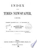 Index to the Times