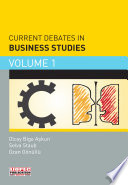 Current Debates In Business Studies