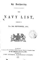 download ebook the navy list, corrected to the 20th september, 1870 pdf epub