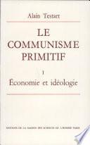 Le communisme primitif