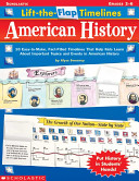 Lift The Flap Timelines  American History